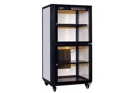 电子防潮箱厂家当湿度稳定时,不仅防潮箱式柜是气密的