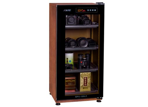 GPG-120LA 小型数控式密码锁木纹色电子防潮箱